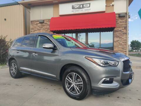 2016 Infiniti QX60 for sale at 719 Automotive Group in Colorado Springs CO