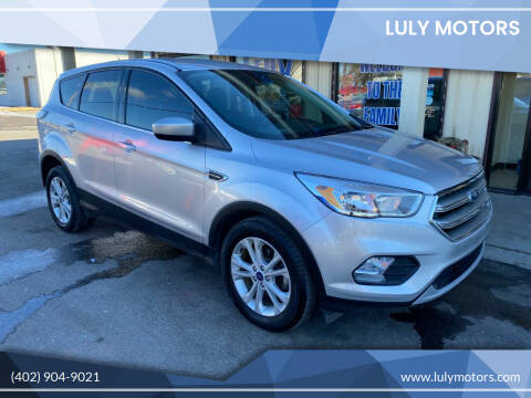 2017 Ford Escape for sale at Luly Motors in Lincoln NE