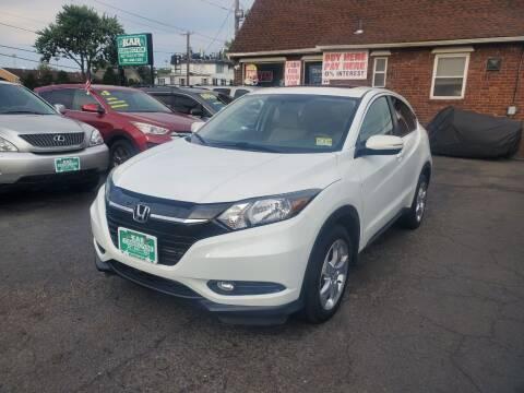 2016 Honda HR-V for sale at Kar Connection in Little Ferry NJ