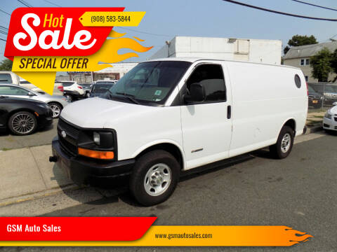 2006 Chevrolet Express Cargo for sale at GSM Auto Sales in Linden NJ