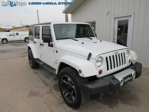 2013 Jeep Wrangler Unlimited for sale at TWIN RIVERS CHRYSLER JEEP DODGE RAM in Beatrice NE
