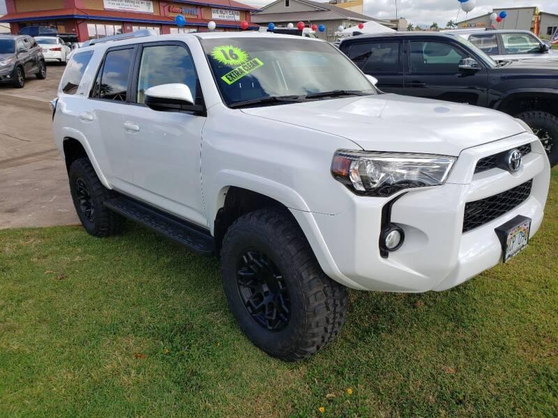 2016 Toyota 4Runner for sale at Ohana Motors in Lihue HI