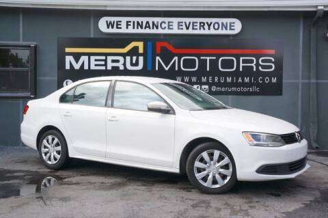 2014 Volkswagen Jetta for sale at Meru Motors in Hollywood FL