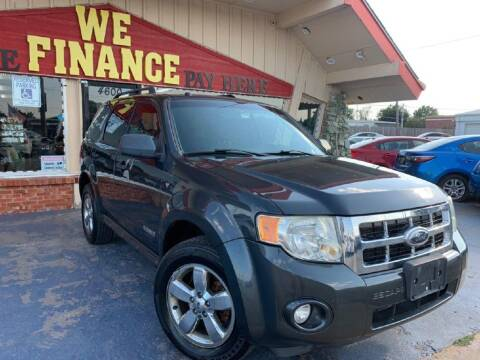 2008 Ford Escape for sale at Caspian Auto Sales in Oklahoma City OK