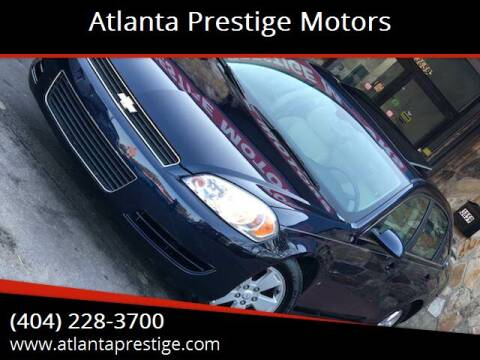 2009 Chevrolet Impala for sale at Atlanta Prestige Motors in Decatur GA