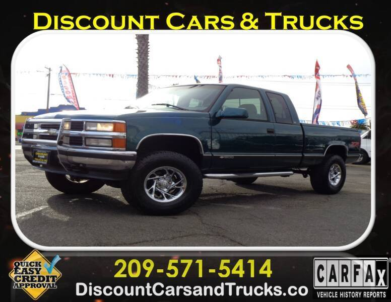 1997 Chevrolet C/K 1500 Series for sale at Discount Cars & Trucks in Modesto CA