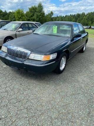 1999 Mercury Grand Marquis for sale at Lighthouse Truck and Auto LLC in Dillwyn VA