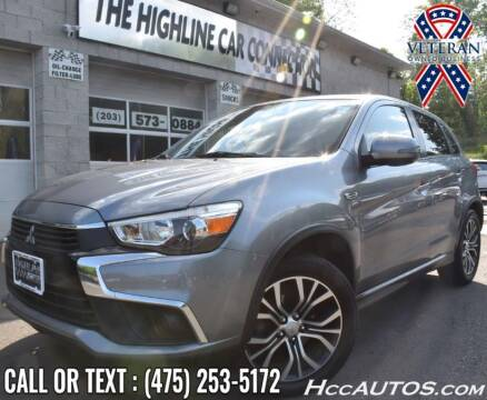 2016 Mitsubishi Outlander Sport for sale at The Highline Car Connection in Waterbury CT