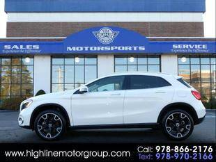 2019 Mercedes-Benz GLA for sale at Highline Group Motorsports in Lowell MA