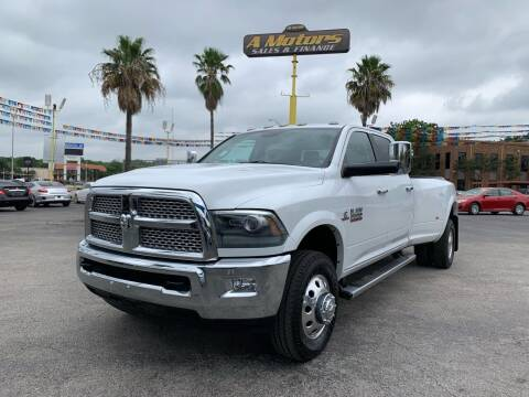 2015 RAM Ram Pickup 3500 for sale at A MOTORS SALES AND FINANCE in San Antonio TX