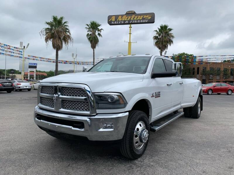 2015 RAM Ram Pickup 3500 for sale at A MOTORS SALES AND FINANCE in San Antonio TX