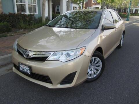2012 Toyota Camry for sale at PREFERRED MOTOR CARS in Covina CA