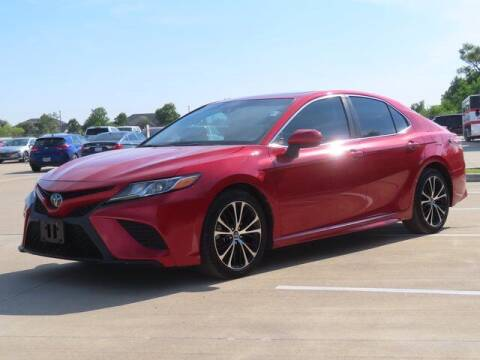 2019 Toyota Camry for sale at BIG STAR HYUNDAI in Houston TX