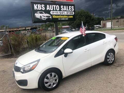 2013 Kia Rio for sale at KBS Auto Sales in Cincinnati OH