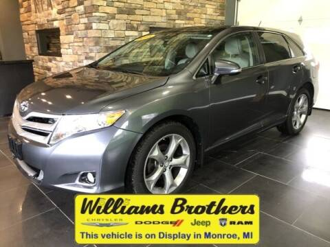 2015 Toyota Venza for sale at Williams Brothers - Pre-Owned Monroe in Monroe MI