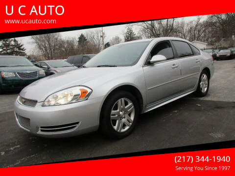 2014 Chevrolet Impala Limited for sale at U C AUTO in Urbana IL