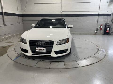 2012 Audi A5 for sale at Luxury Car Outlet in West Chicago IL