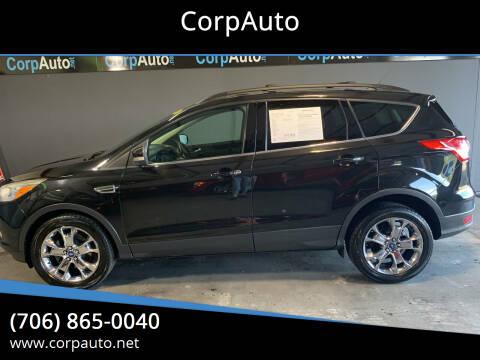 2013 Ford Escape for sale at CorpAuto in Cleveland GA