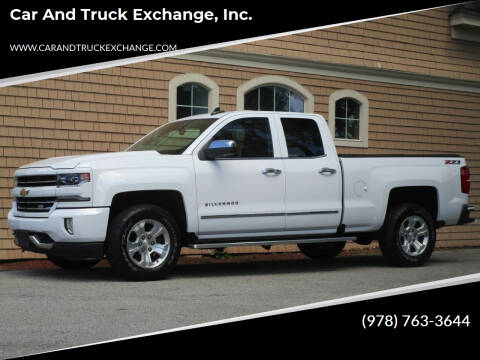 2017 Chevrolet Silverado 1500 for sale at Car and Truck Exchange, Inc. in Rowley MA