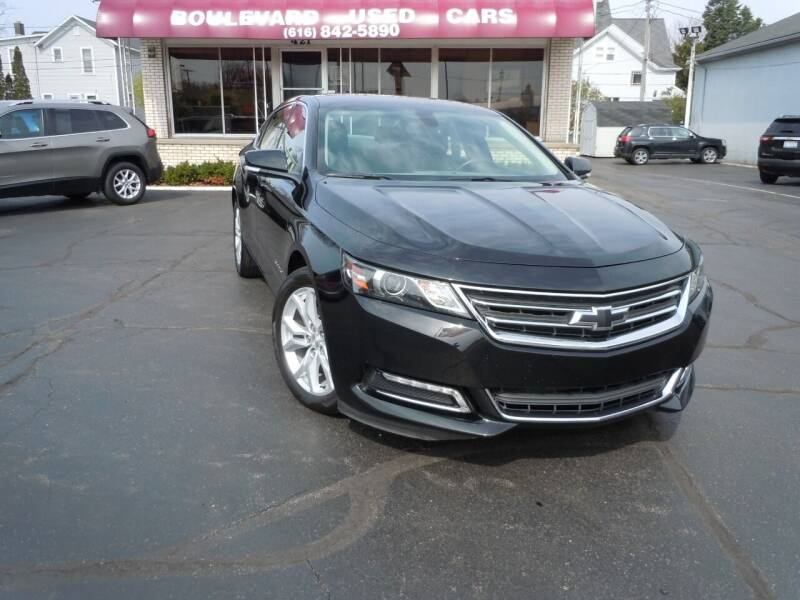 2018 Chevrolet Impala for sale at Boulevard Used Cars in Grand Haven MI
