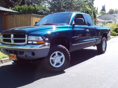 1997 Dodge Dakota for sale at Redline Auto Sales in Vancouver WA