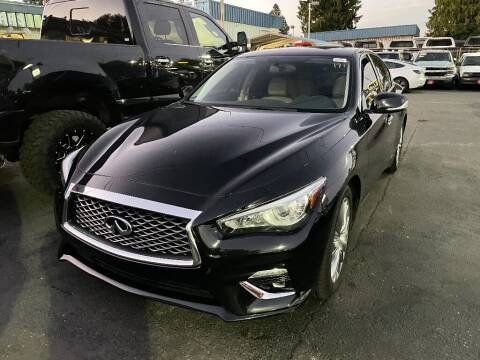 2019 Infiniti Q50 for sale at Real Deal Cars in Everett WA