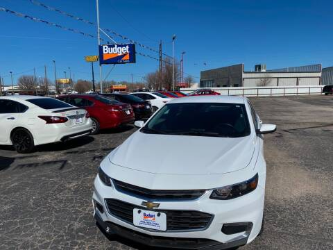 2018 Chevrolet Malibu for sale at BUDGET CAR SALES in Amarillo TX