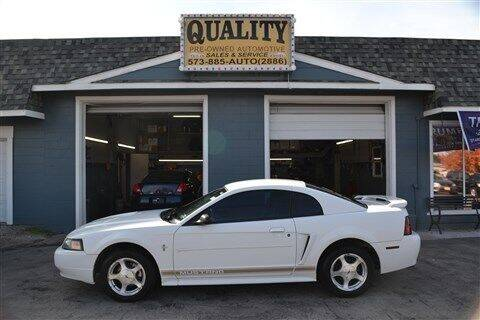 2002 Ford Mustang for sale at Quality Pre-Owned Automotive in Cuba MO