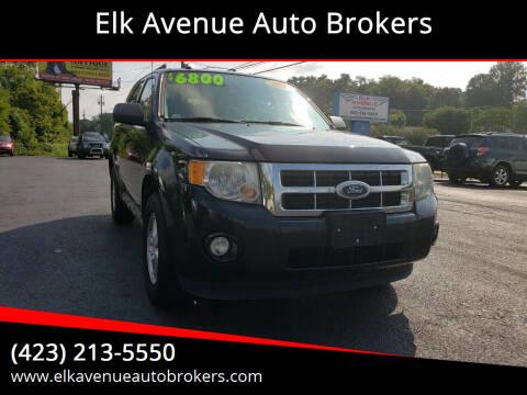 2011 Ford Escape for sale at Elk Avenue Auto Brokers in Elizabethton TN