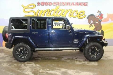 2013 Jeep Wrangler Unlimited for sale at Sundance Chevrolet in Grand Ledge MI