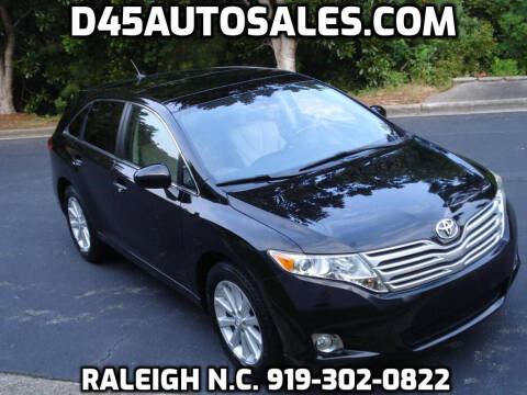 2010 Toyota Venza for sale at D45 Auto Brokers in Raleigh NC