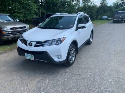 2015 Toyota RAV4 for sale at Winner's Circle Auto Sales in Tilton NH