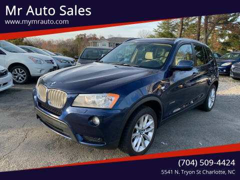 2014 BMW X3 for sale at Mr Auto Sales in Charlotte NC
