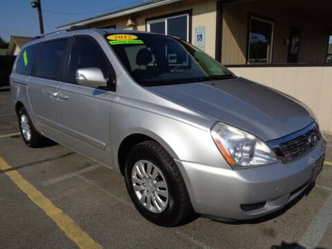 2012 Kia Sedona for sale at BBL Auto Sales in Yakima WA
