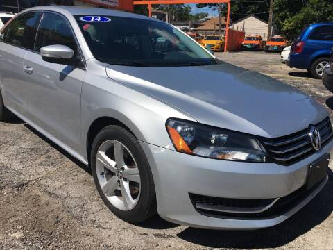 2014 Volkswagen Passat for sale at 540 AUTO SALES in Chicago IL