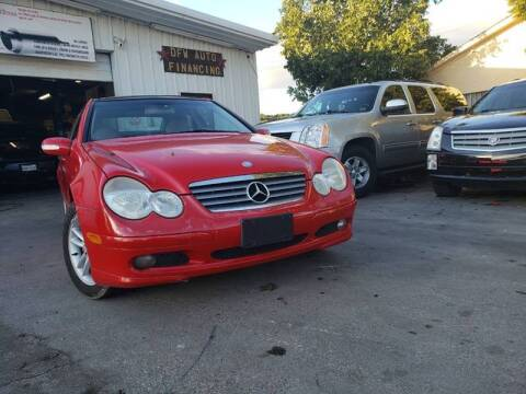 2002 Mercedes-Benz C-Class for sale at Bad Credit Call Fadi in Dallas TX