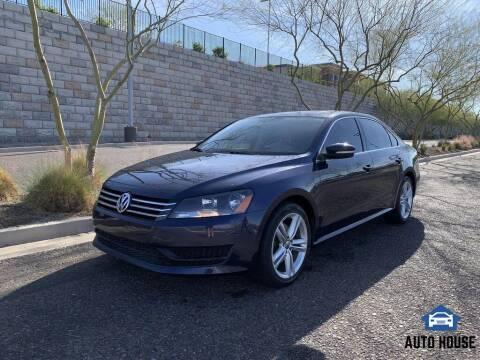 2013 Volkswagen Passat for sale at AUTO HOUSE TEMPE in Tempe AZ