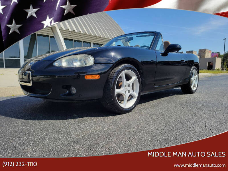 2002 Mazda MX-5 Miata for sale at Middle Man Auto Sales in Savannah GA