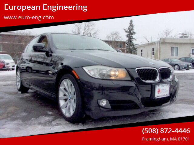 2011 BMW 3 Series for sale at European Engineering in Framingham MA