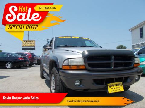 2002 Dodge Durango for sale at Kevin Harper Auto Sales in Mount Zion IL