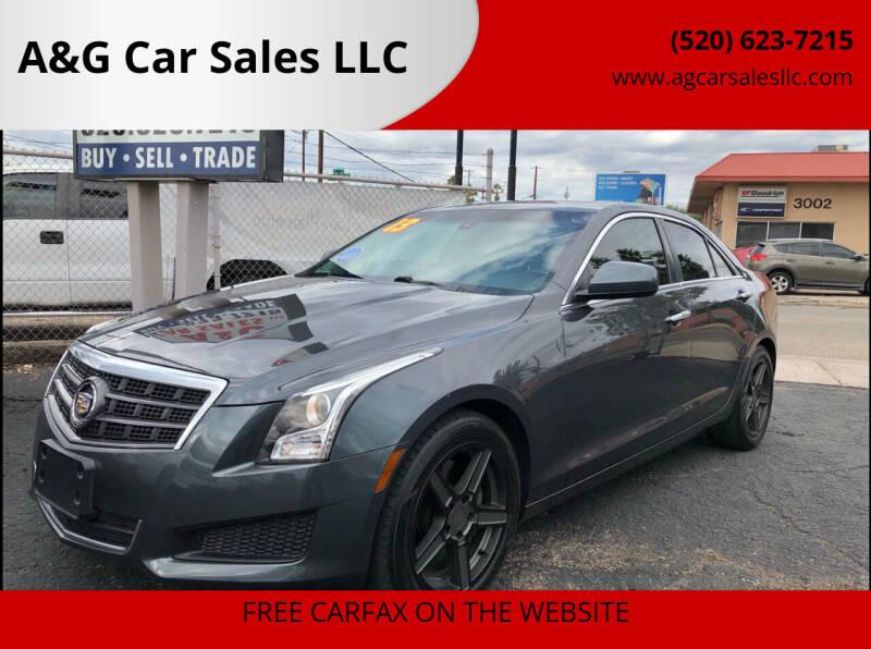 2013 Cadillac ATS for sale at A&G Car Sales  LLC in Tucson AZ