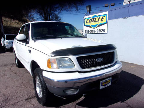 2002 Ford F-150 for sale at Circle Auto Center in Colorado Springs CO