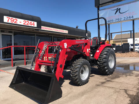 2021 Mahindra 26384wdROPSHSTwith Loader for sale at NORRIS AUTO SALES in Oklahoma City OK