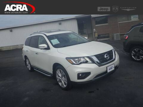 2018 Nissan Pathfinder for sale at BuyRight Auto in Greensburg IN