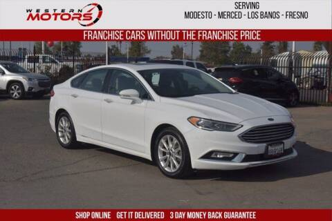 2017 Ford Fusion for sale at Choice Motors in Merced CA
