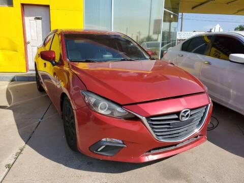 2016 Mazda MAZDA3 for sale at FM AUTO SALES in El Paso TX