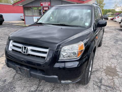 2006 Honda Pilot for sale at Best Deal Motors in Saint Charles MO