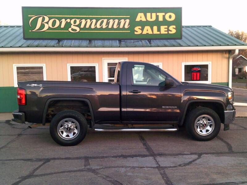 2014 GMC Sierra 1500 for sale at Borgmann Auto Sales in Norfolk NE