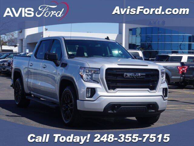 2020 GMC Sierra 1500 for sale at Work With Me Dave in Southfield MI
