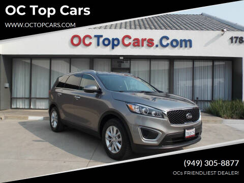 2016 Kia Sorento for sale at OC Top Cars in Irvine CA